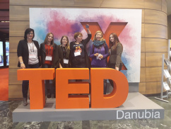 WHAT IF…- English and Art Majors at TEDxDanubia 2018